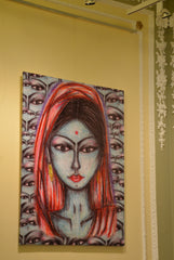 Bliss Indian Lady Limited Edition Giclee Print