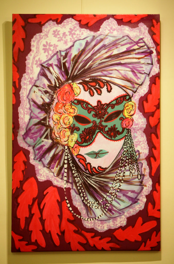 Masqueradely Limited Edition Giclee Print