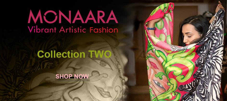 Monaara - Vibrant Artistic Fashion - Collection Two