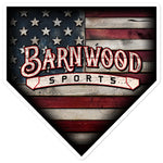 Barnwood Sports Design Americana Plate Sticker