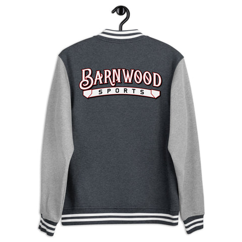 Barnwood Sports Men's Letterman Jacket