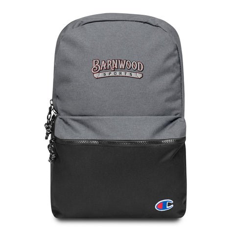 Barnwood Sports Design Embroidered Champion Backpack