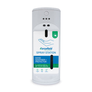 Your Forcefield Hand Sanitiser Auto Spray Station