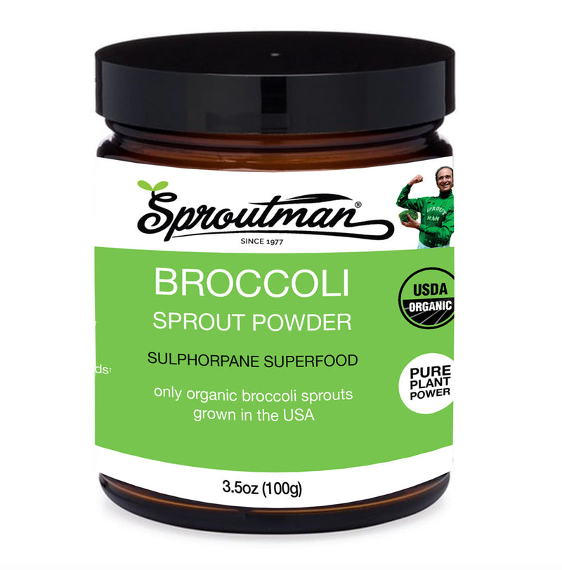 Organic Broccoli Sprout Powder - 100g