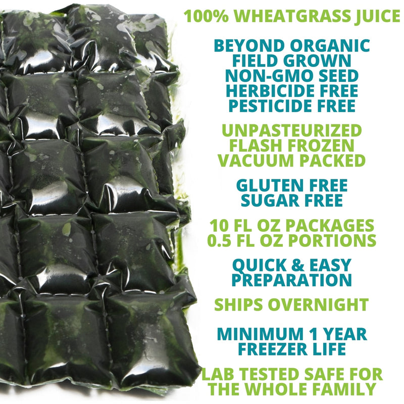 Frozen Wheatgrass Juice