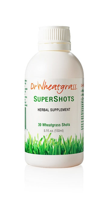 Dr. Wheatgrass Supershots