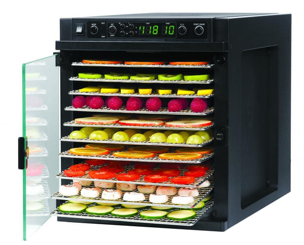 Tribest Sedona Express Food Dehydrator with Stainless Steel Trays