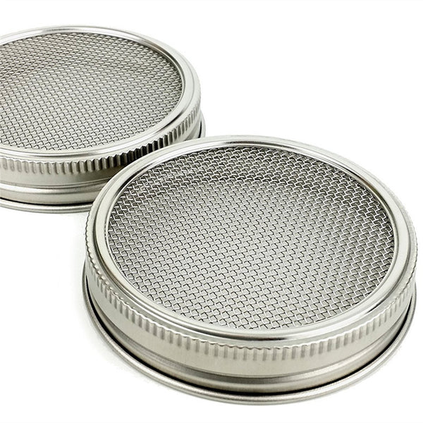 Sprouting Lid - 2 pack (fits Wide-Mouth Jars)