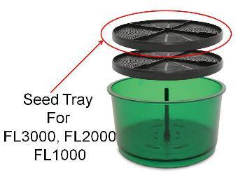 Freshlife Seed Tray (Black)