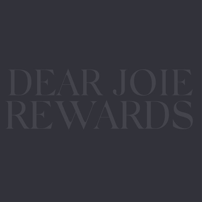 JOIE REWARDS