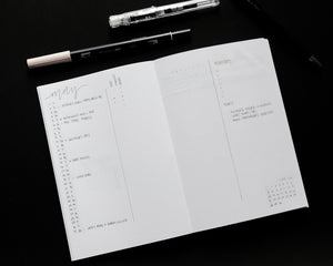 The Kito Notebook - Dear Joie A5 Slim Notebooks, Perfect for Bullet Journaling, Fountain Pens, Environmentally Friendly Paper, Handcrafted and bound in Canada