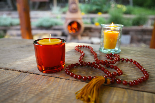 How to get the longest burn time from your beeswax votives