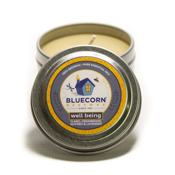 Aromatherapy Beeswax - Travel Tin Candle