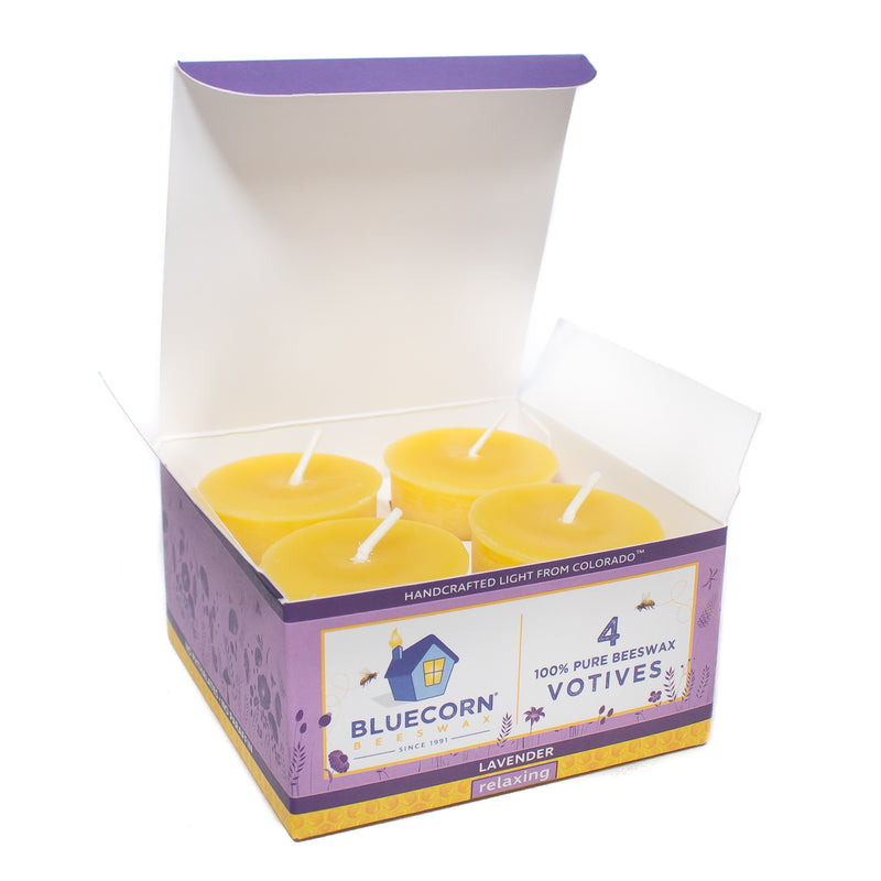Aromatherapy Beeswax Votives