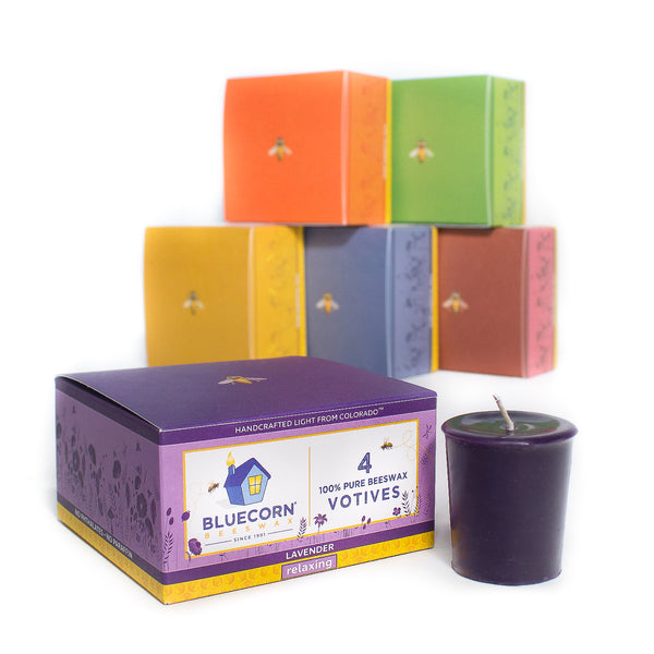 Aromatherapy Beeswax Votives - CLEARANCE