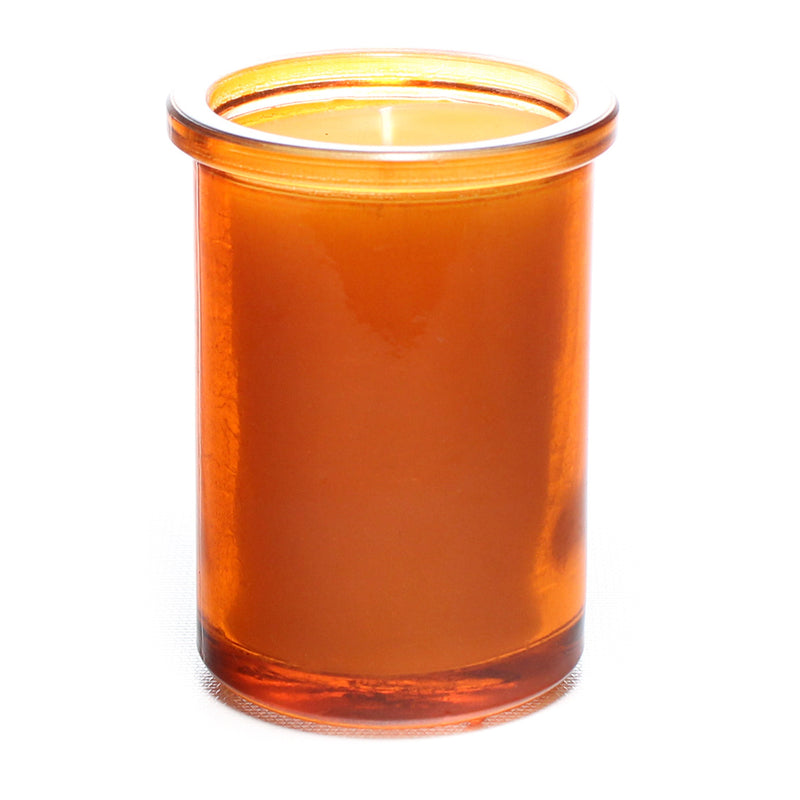 Pure Beeswax - Recycled Heavy Glass Candle - 6oz