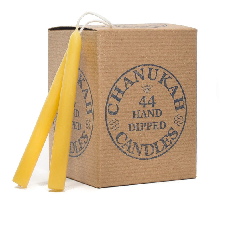 Pure Beeswax - Chanukah Candles