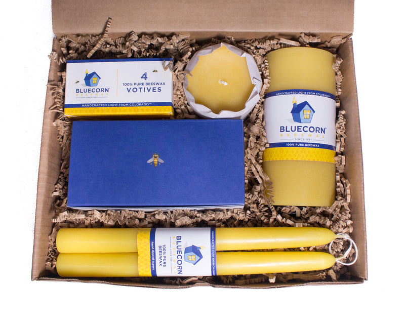 Raw Beeswax Gift Set - Medium