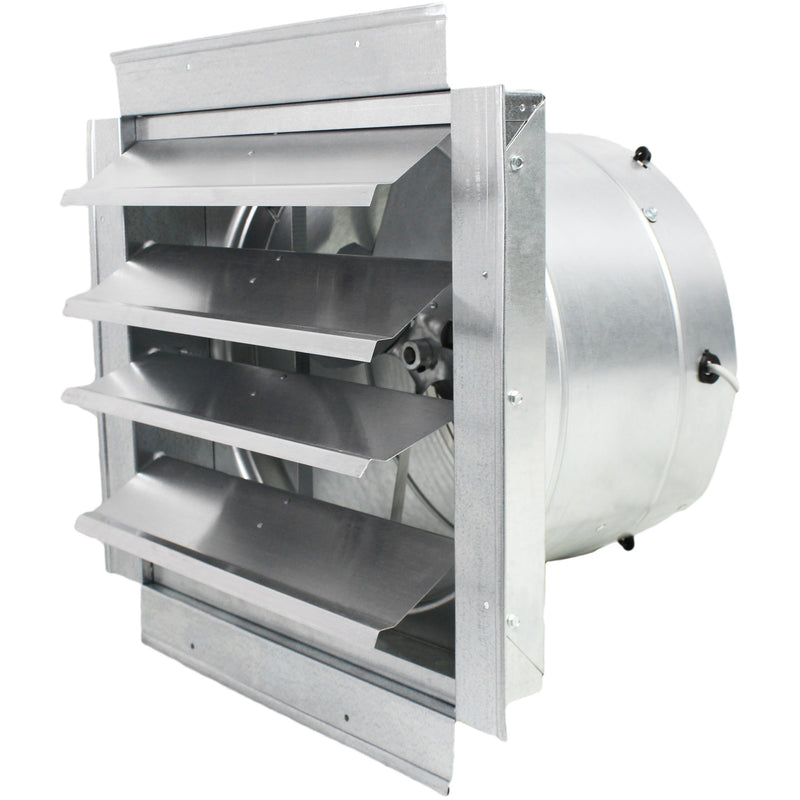 Maxx Air 14 In. Heavy Duty Exhaust Fan with Automatic Shutter