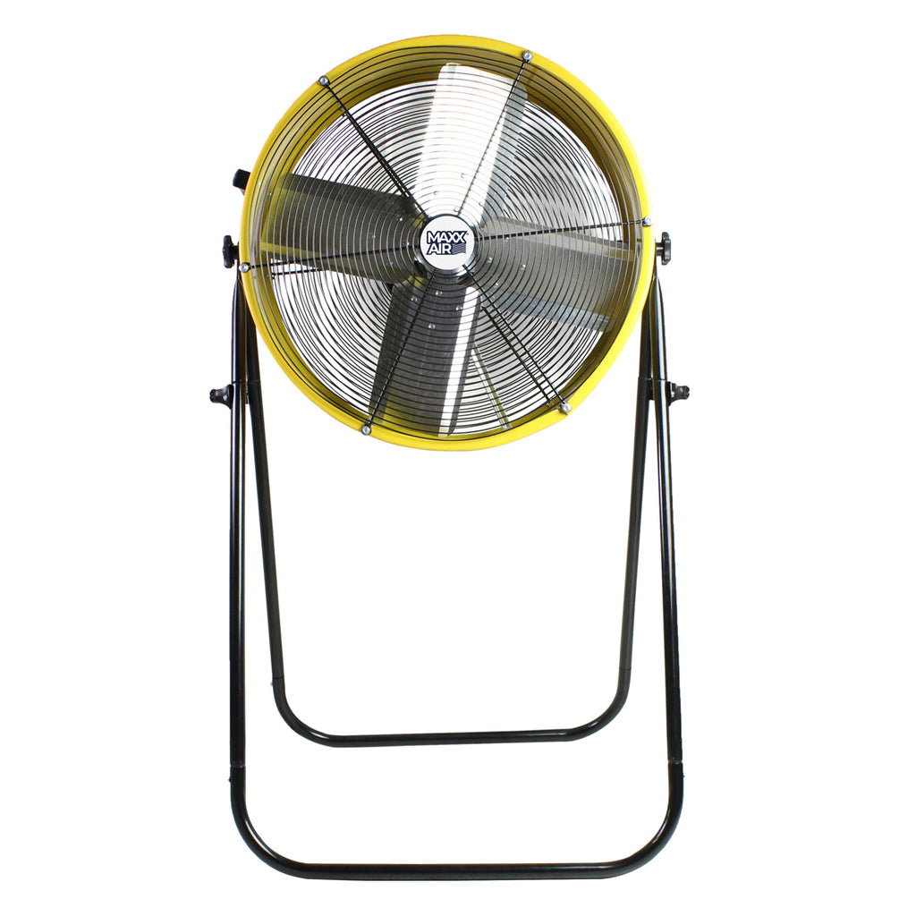 Maxx Air 24 In. 2-Speed Tilting Direct Drive Drum Fan with Extension Legs