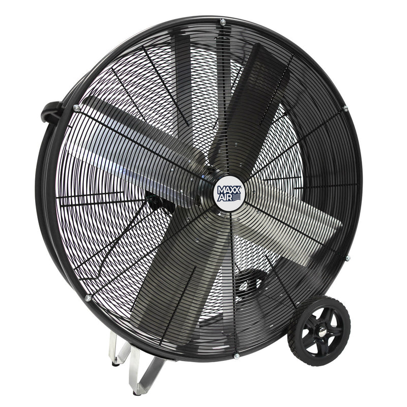 Maxx Air Pro Series 30 In. 2-Speed Direct Drive Drum Fan
