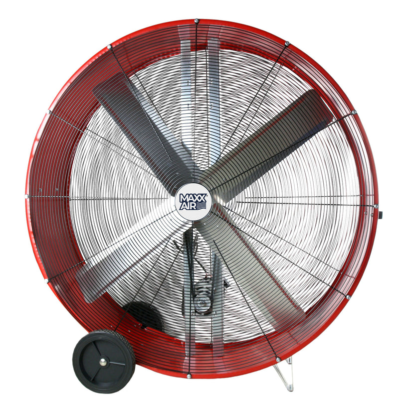 Maxx Air 48 In. 2-Speed Belt Drive Drum Fan