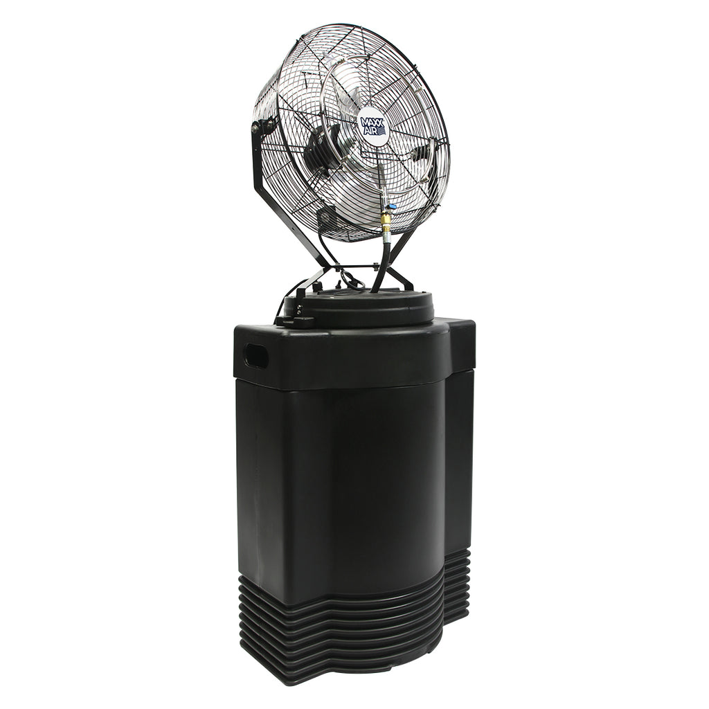 Cool Draft 18 In. 3-Speed High Pressure Misting Fan with 40 Gal. Tank