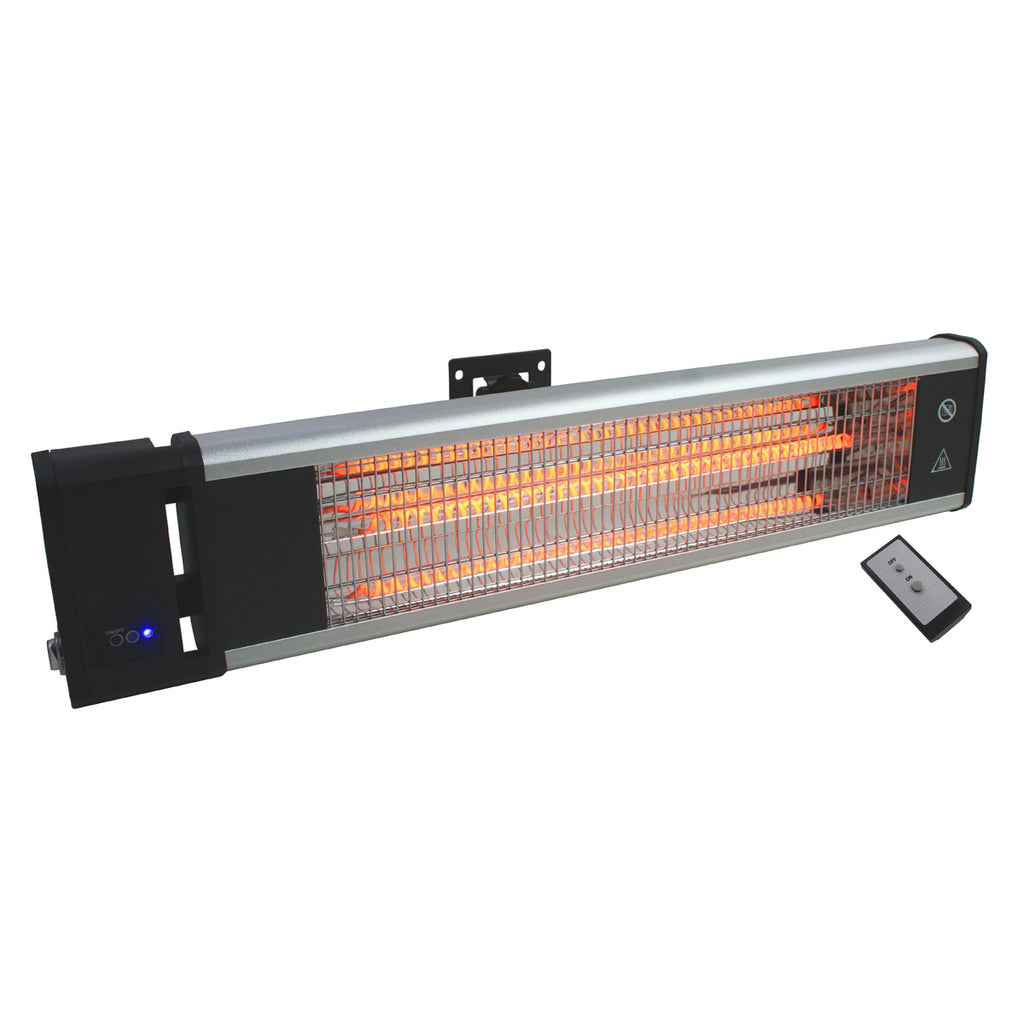 29 In. Electric Radiant Wall or Ceiling Mount Heater with Remote Control