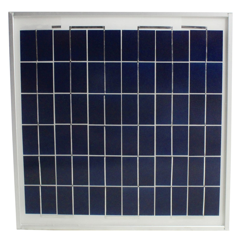 Individual Solar Panel for Roof and Gable Mount Solar Powered Attic Ventilators