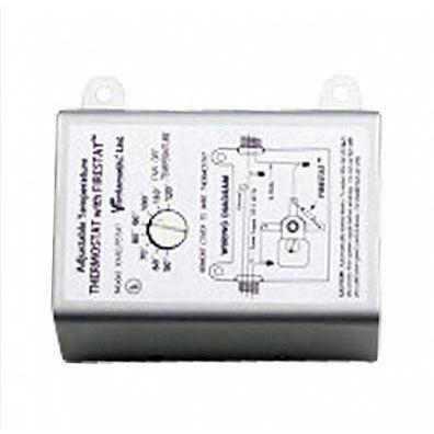 Adjustable Thermostat with Firestat for Power Attic Ventilators
