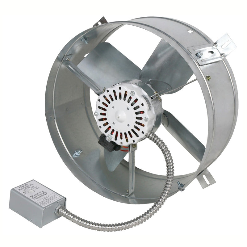 Maxx Air 1,300 CFM Gable Mount Power Attic Ventilator