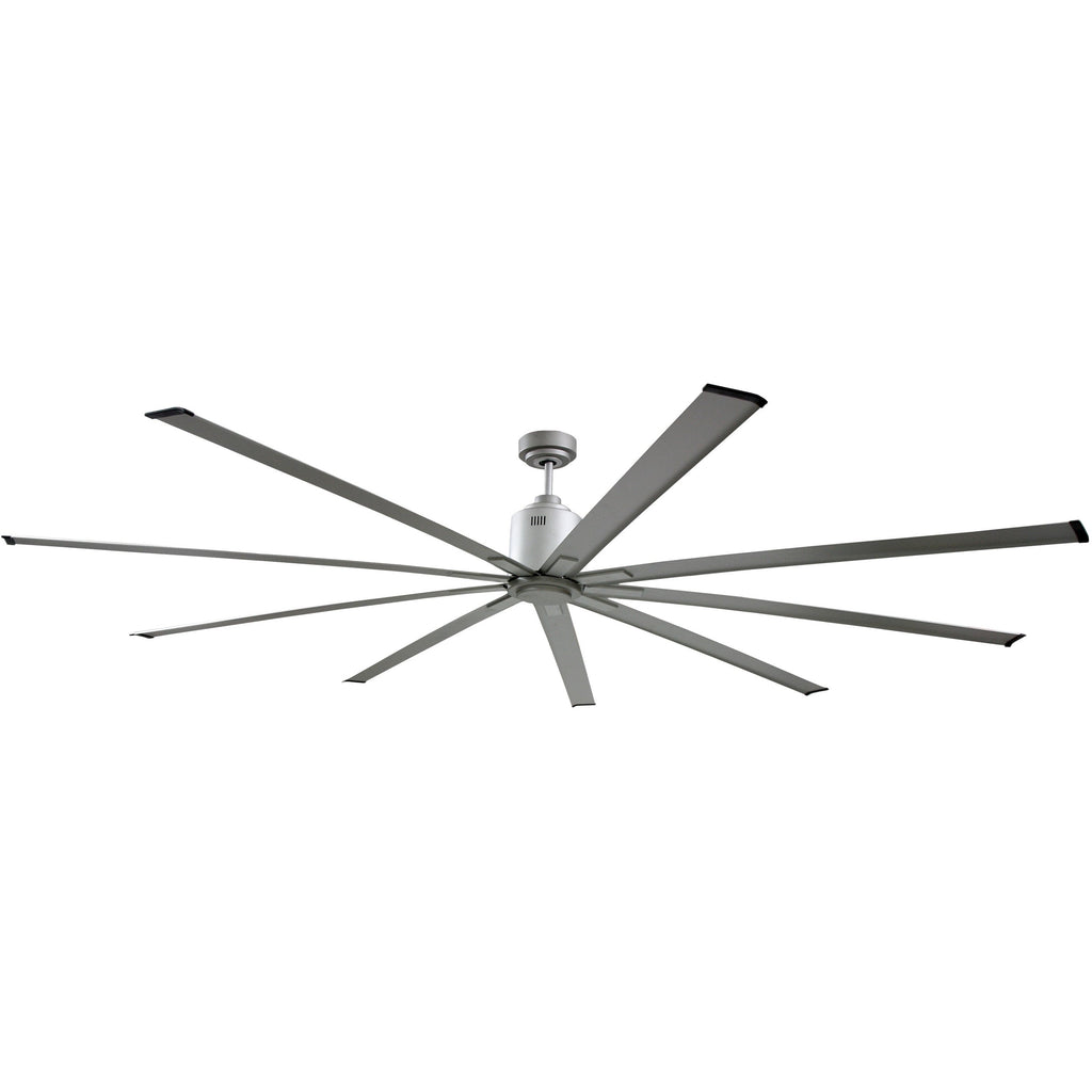96 In. Indoor 6-Speed Ceiling Fan in Brushed Nickel