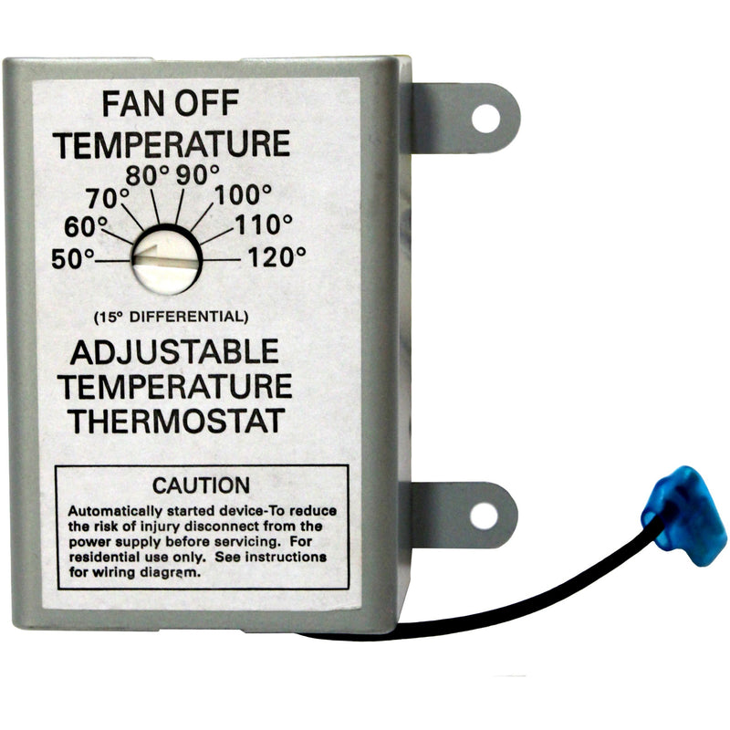 DC Thermostat for Solar Powered Attic Ventilators