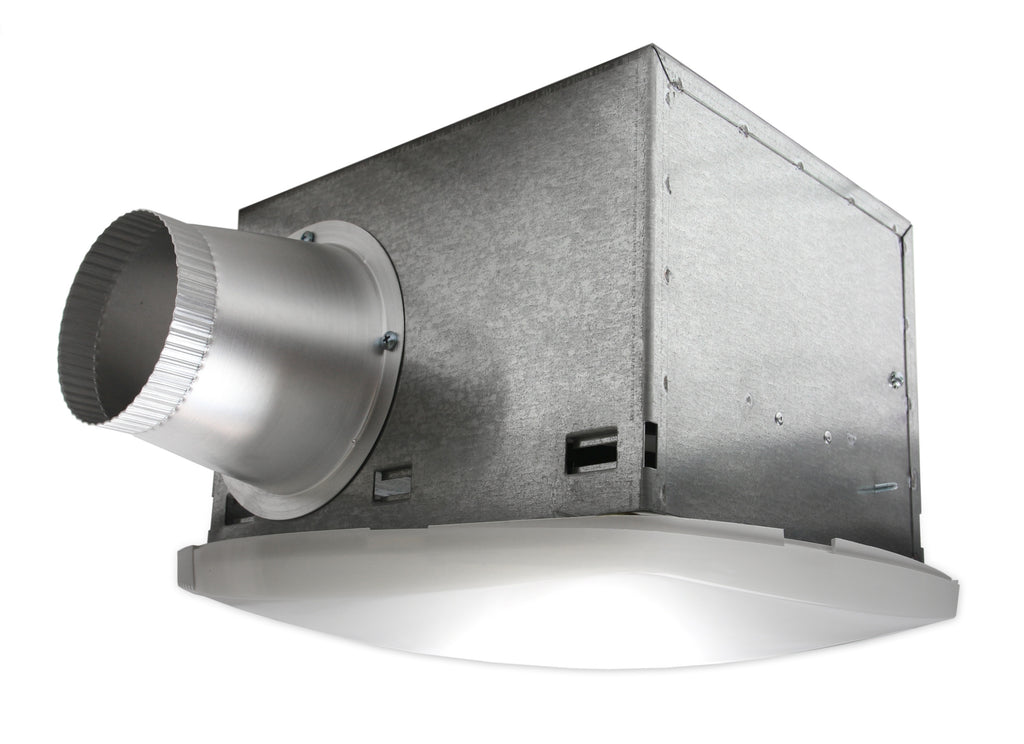 NuVent SH Series 86 CFM Ceiling Exhaust Bath Fan with Light