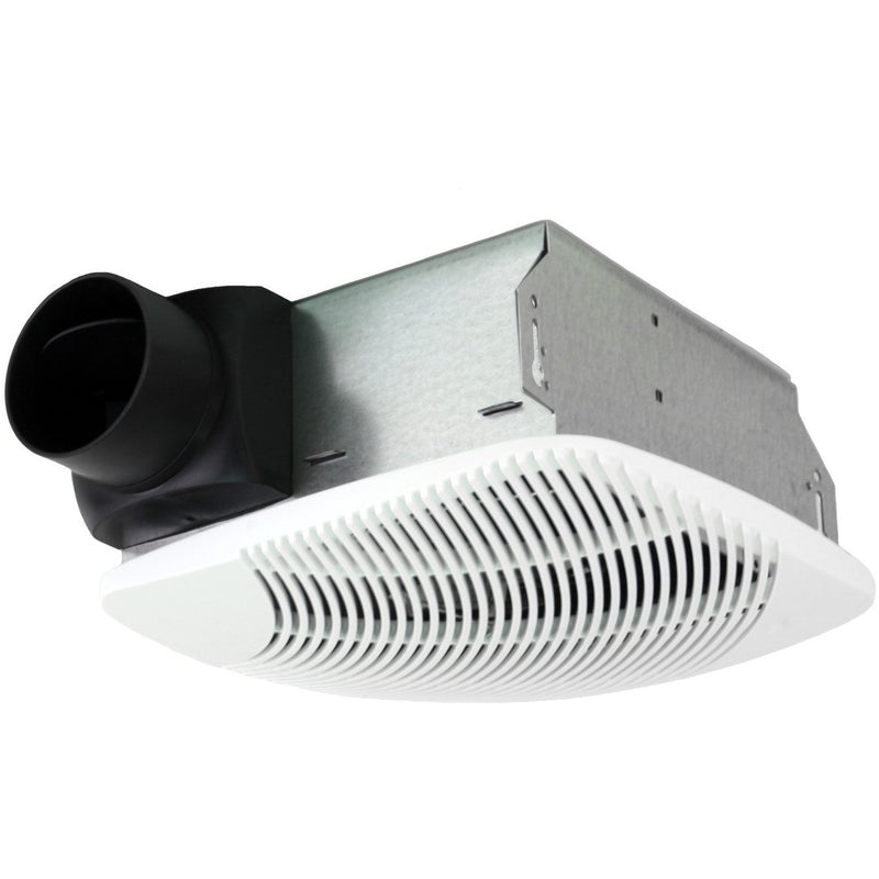 NuVent Contractor Series 70 CFM Ceiling/Wall Exhaust Bath Fan with 4 In. Duct Collar