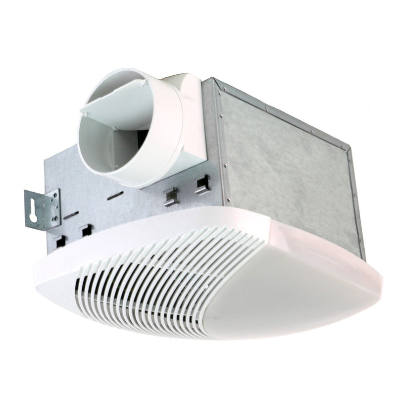 NuVent MS Series 50 CFM Ceiling Exhaust Bath Fan with Light