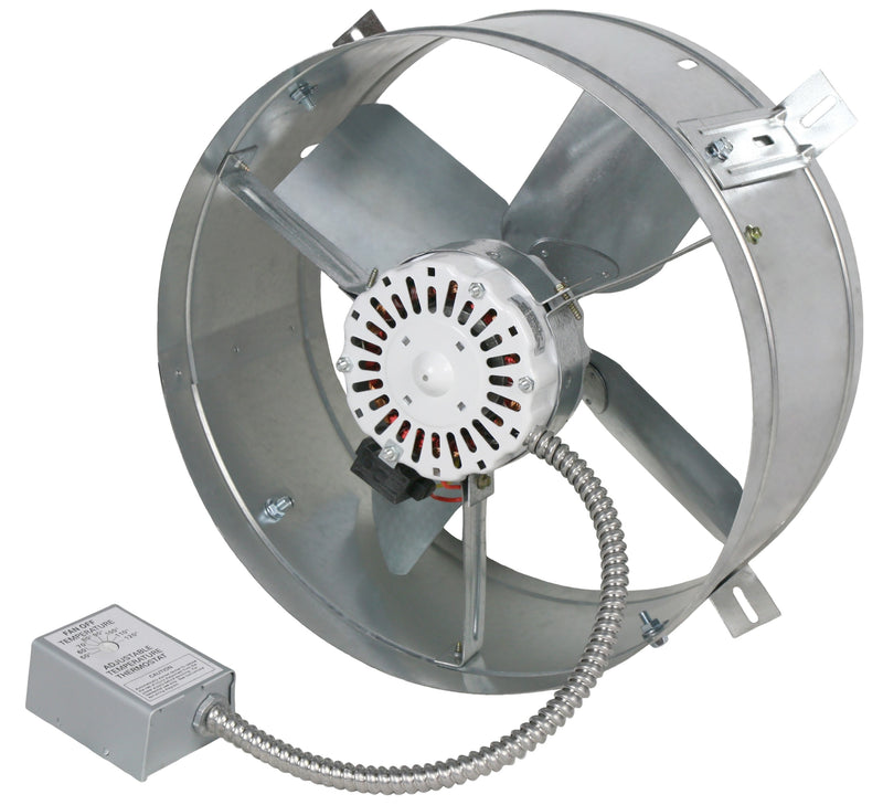 Ventamatic Standard 1,650 CFM Gable Mount Power Attic Ventilator
