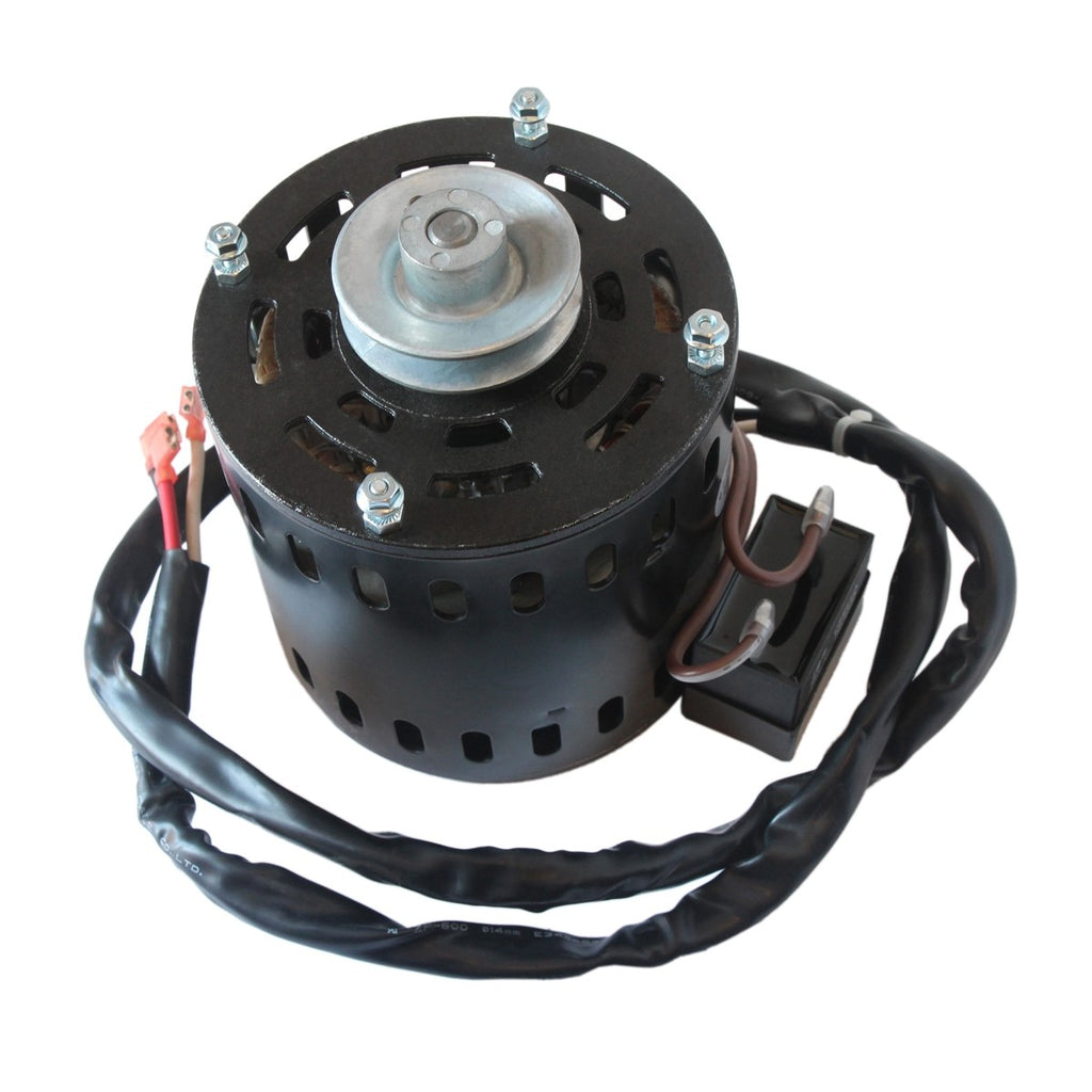 Motor with 2.5 In. Pulley for 60 In. Belt Drive Drum Fans