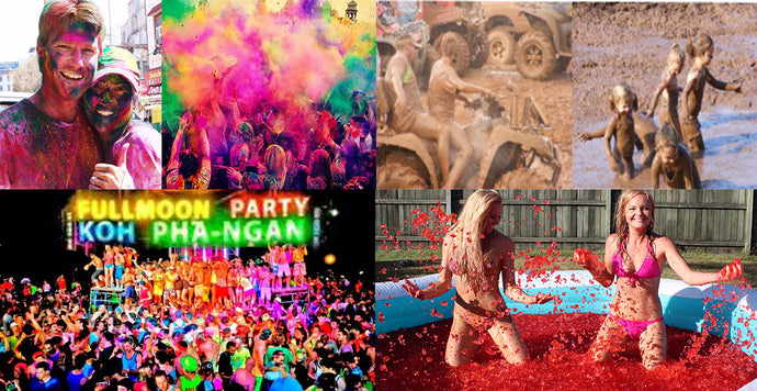 Crazy Party Ideas from around the world that you can do at home