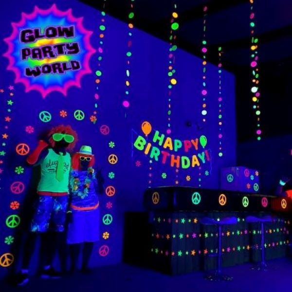 Glow in the Dark Party Decoration Ideas
