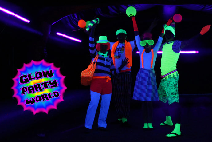 How to do a Glow in the Dark Party?