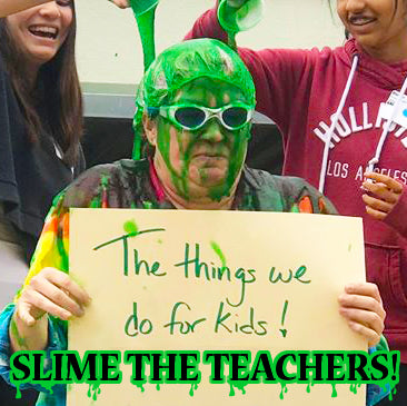 Slime the principal fundraiser