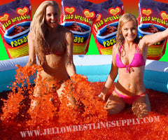 how to make a pool of jello for wrestling