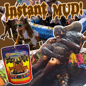 Instant Mud clean mud for obstacle fun run bulk supplies