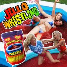 Load image into Gallery viewer, Jello wrestling jelly red green orange bulk jello pool bath