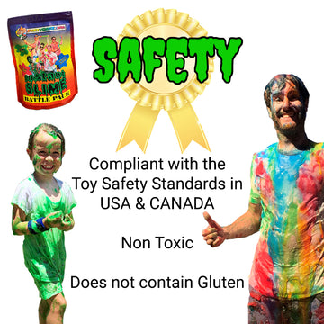 fun run slime safety information slime color run