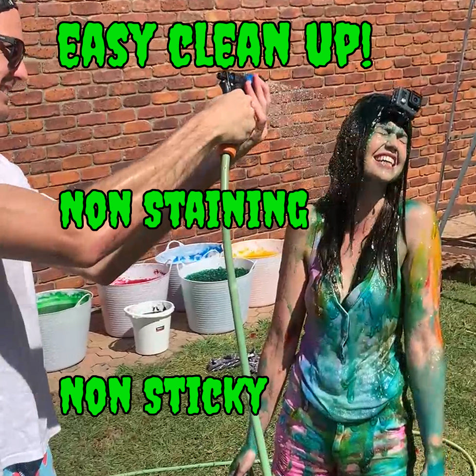 Instant slime non sticky non staining fun run slime