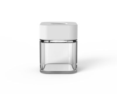 Square Jar – 3.5oz – Glass