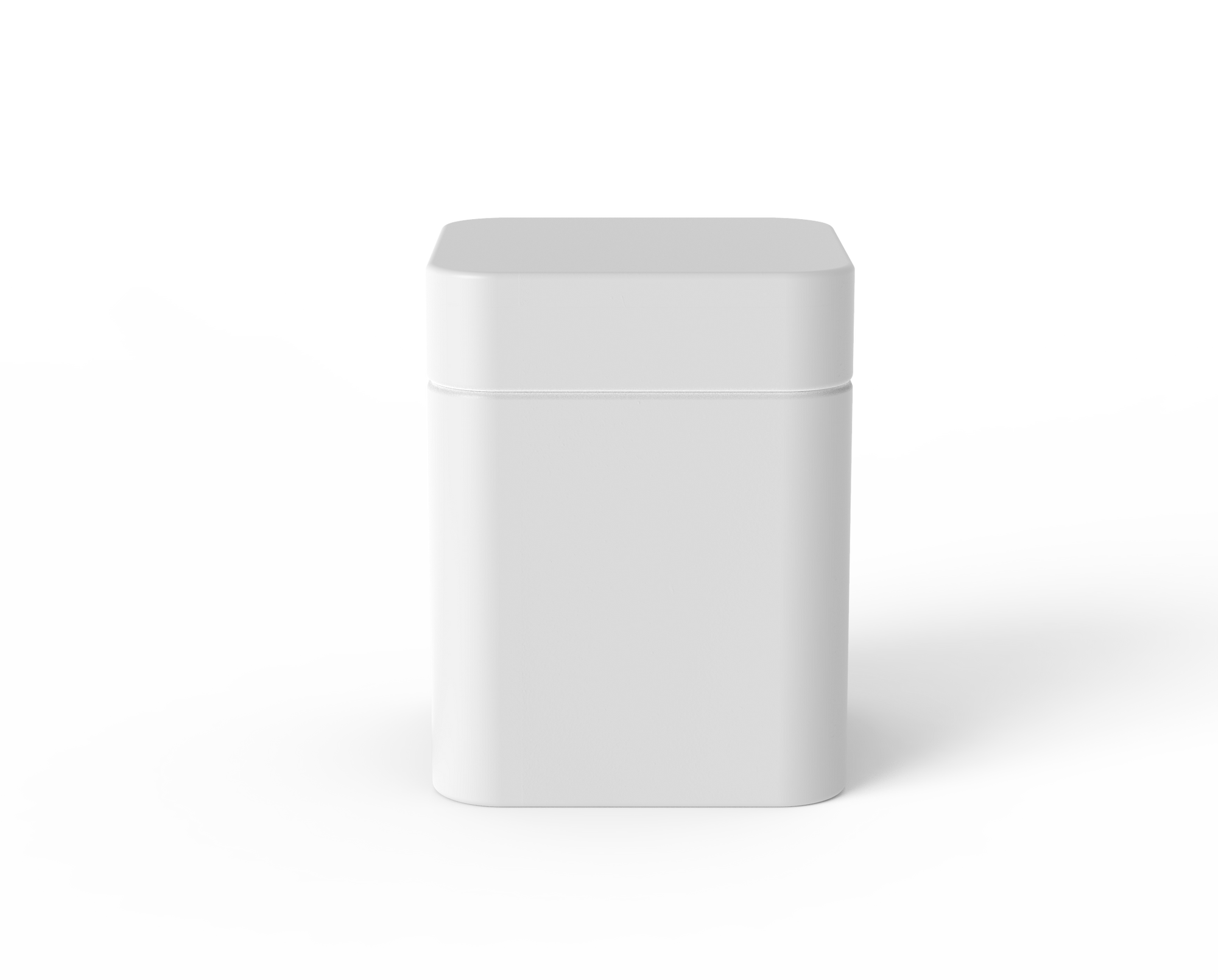 Square Jar – 3.5oz – Plastic