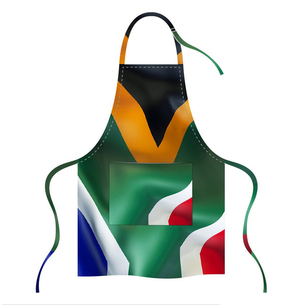 Printed Apron - SA Waving Flag